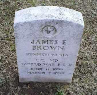 BROWN, JAMES E. - Ross County, Ohio | JAMES E. BROWN - Ohio Gravestone Photos