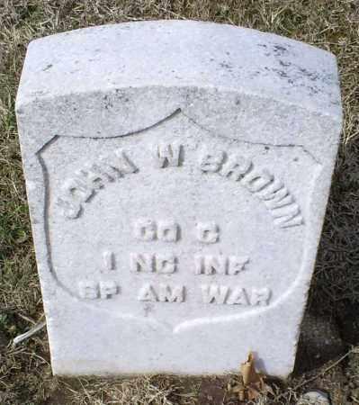 BROWN, JOHN W. - Ross County, Ohio | JOHN W. BROWN - Ohio Gravestone Photos