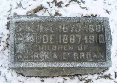 BROWN, LILLIE - Ross County, Ohio | LILLIE BROWN - Ohio Gravestone Photos