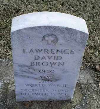 BROWN, LAWRENCE DAVID - Ross County, Ohio | LAWRENCE DAVID BROWN - Ohio Gravestone Photos