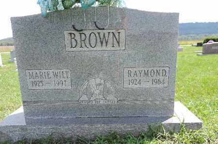 BROWN, RAYMOND - Ross County, Ohio | RAYMOND BROWN - Ohio Gravestone Photos