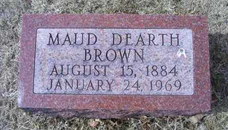 BROWN, MAUD - Ross County, Ohio | MAUD BROWN - Ohio Gravestone Photos