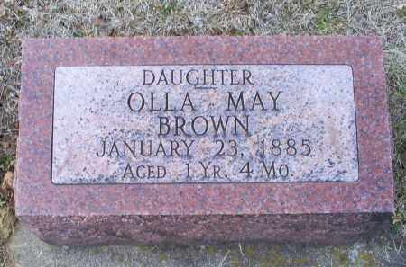 BROWN, OLLA MAY - Ross County, Ohio | OLLA MAY BROWN - Ohio Gravestone Photos