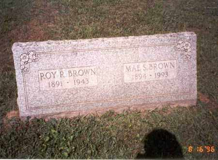 BROWN, MAE S. - Ross County, Ohio | MAE S. BROWN - Ohio Gravestone Photos