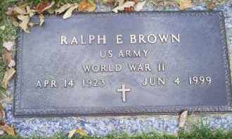 BROWN, RALPH E. - Ross County, Ohio | RALPH E. BROWN - Ohio Gravestone Photos