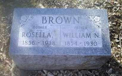 BROWN, WILLIAM N. - Ross County, Ohio | WILLIAM N. BROWN - Ohio Gravestone Photos