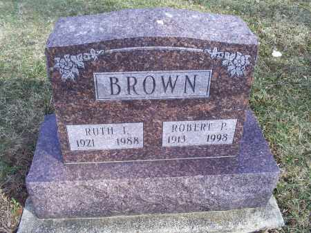 BROWN, ROBERT P. - Ross County, Ohio | ROBERT P. BROWN - Ohio Gravestone Photos