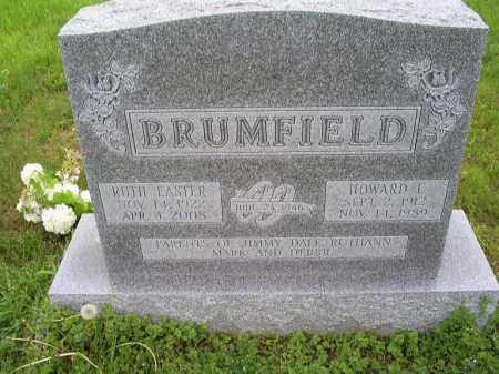 BRUMFIELD, HOWARD L. - Ross County, Ohio | HOWARD L. BRUMFIELD - Ohio Gravestone Photos
