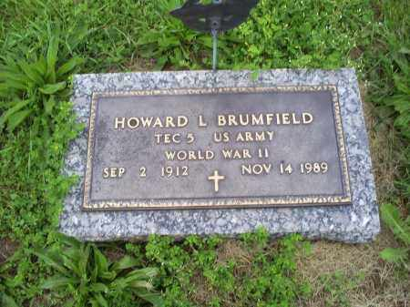 BRUMFIELD, HOWARD L. - Ross County, Ohio | HOWARD L. BRUMFIELD - Ohio Gravestone Photos