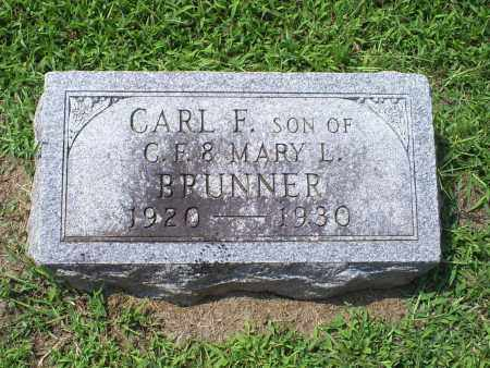 BRUNNER, CARL F. - Ross County, Ohio | CARL F. BRUNNER - Ohio Gravestone Photos