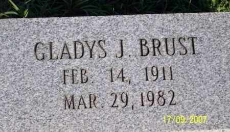 BRUST, GLADYS J. - Ross County, Ohio | GLADYS J. BRUST - Ohio Gravestone Photos