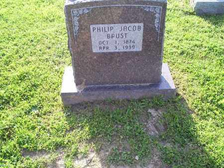 BRUST, PHILIP JACOB - Ross County, Ohio | PHILIP JACOB BRUST - Ohio Gravestone Photos