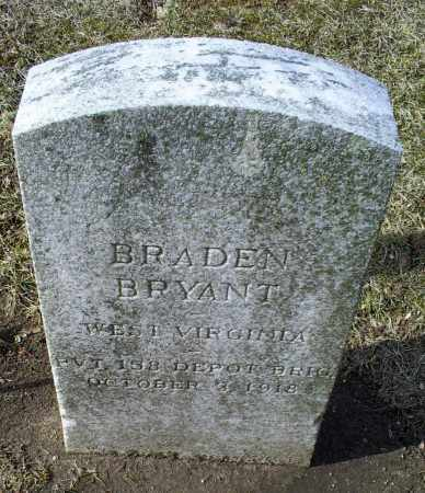 BRYANT, BRADEN - Ross County, Ohio | BRADEN BRYANT - Ohio Gravestone Photos