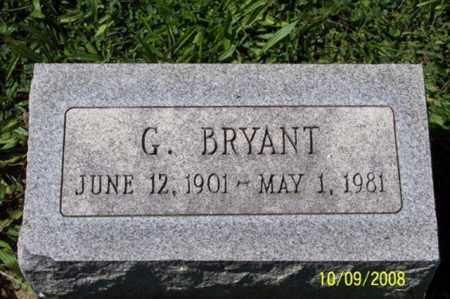 BRYANT, G. - Ross County, Ohio | G. BRYANT - Ohio Gravestone Photos