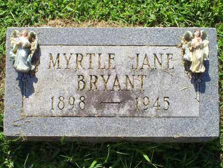 BRYANT, MYRTLE JANE - Ross County, Ohio | MYRTLE JANE BRYANT - Ohio Gravestone Photos
