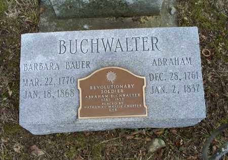 BUCHWALTER, ABRAHAM - Ross County, Ohio | ABRAHAM BUCHWALTER - Ohio Gravestone Photos