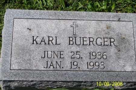 BUERGER, KARL - Ross County, Ohio | KARL BUERGER - Ohio Gravestone Photos