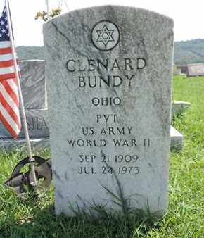 BUNDY, CLENARD - Ross County, Ohio | CLENARD BUNDY - Ohio Gravestone Photos