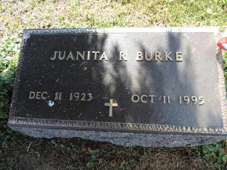 BURKE, JUANITA - Ross County, Ohio | JUANITA BURKE - Ohio Gravestone Photos