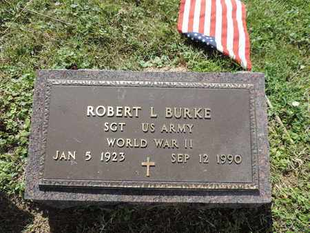 BURKE, ROBERT L. - Ross County, Ohio | ROBERT L. BURKE - Ohio Gravestone Photos