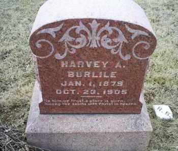 BURLIE, HARVEY A. - Ross County, Ohio | HARVEY A. BURLIE - Ohio Gravestone Photos