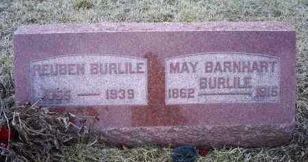BARNHART BURLIE, MAY - Ross County, Ohio | MAY BARNHART BURLIE - Ohio Gravestone Photos