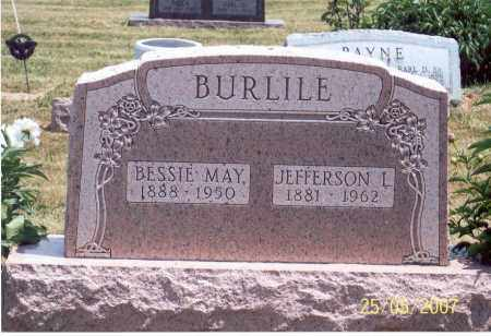 BURLILE, JEFFERSON L. - Ross County, Ohio | JEFFERSON L. BURLILE - Ohio Gravestone Photos