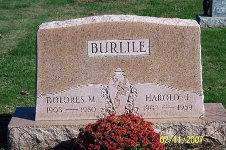 BURLILE, DOLORES M. - Ross County, Ohio | DOLORES M. BURLILE - Ohio Gravestone Photos