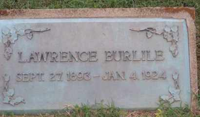 BURLILE, LAWRENCE - Ross County, Ohio   LAWRENCE BURLILE - Ohio Gravestone Photos