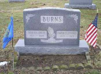 BURNS, OMAR CLIFFORD - Ross County, Ohio | OMAR CLIFFORD BURNS - Ohio Gravestone Photos