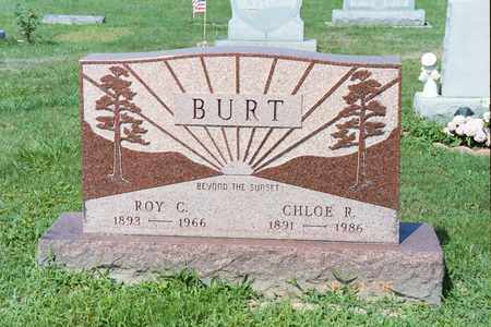BURT, ROY C - Ross County, Ohio | ROY C BURT - Ohio Gravestone Photos