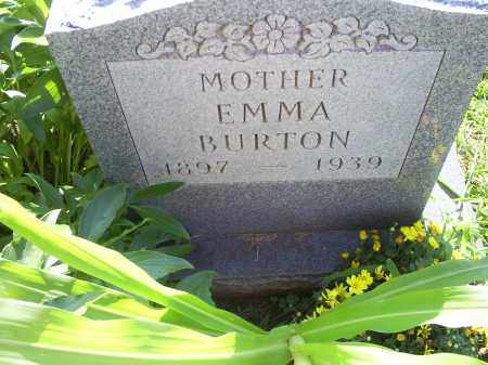 BURTON, EMMA - Ross County, Ohio | EMMA BURTON - Ohio Gravestone Photos
