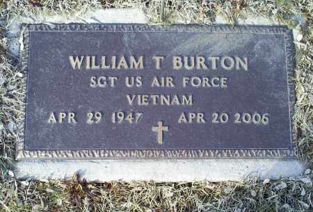 BURTON, WILLIAM T. - Ross County, Ohio | WILLIAM T. BURTON - Ohio Gravestone Photos