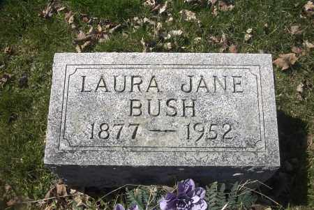 BUSH, LAURA JANE - Ross County, Ohio | LAURA JANE BUSH - Ohio Gravestone Photos