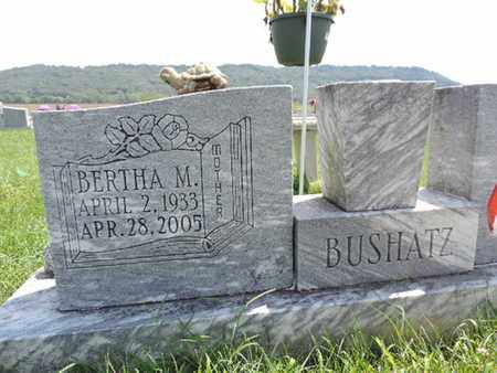 BUSHATZ, BERTHA M - Ross County, Ohio | BERTHA M BUSHATZ - Ohio Gravestone Photos