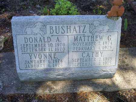 BUSHATZ, MATTHEW G. - Ross County, Ohio | MATTHEW G. BUSHATZ - Ohio Gravestone Photos