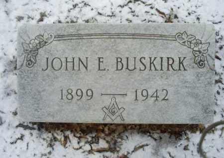 BUSKIRK, JOHN E. - Ross County, Ohio | JOHN E. BUSKIRK - Ohio Gravestone Photos