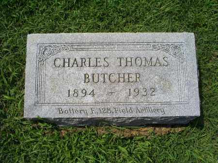 BUTCHER, CHARLES THOMAS - Ross County, Ohio | CHARLES THOMAS BUTCHER - Ohio Gravestone Photos