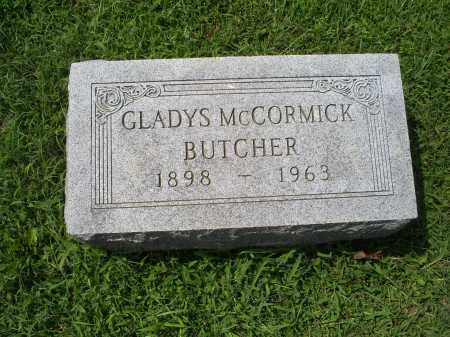 MCCORMICK BUTCHER, GLADYS - Ross County, Ohio | GLADYS MCCORMICK BUTCHER - Ohio Gravestone Photos