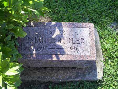 BUTLER, ISIAH L. - Ross County, Ohio | ISIAH L. BUTLER - Ohio Gravestone Photos