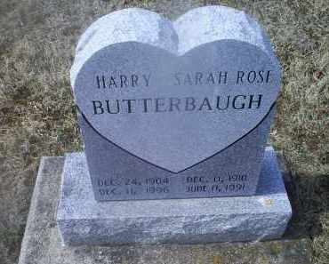 BUTTERBAUGH, SARAH ROSE - Ross County, Ohio | SARAH ROSE BUTTERBAUGH - Ohio Gravestone Photos