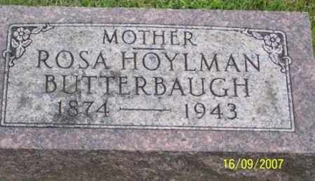 BUTTERBAUGH, ROSA - Ross County, Ohio | ROSA BUTTERBAUGH - Ohio Gravestone Photos