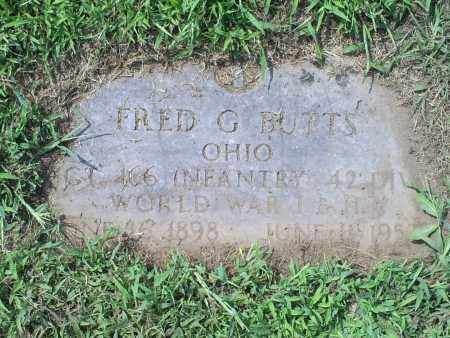 BUTTS, FRED G. - Ross County, Ohio | FRED G. BUTTS - Ohio Gravestone Photos