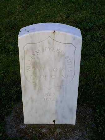 BUTTS, WILLIAM TYLER - Ross County, Ohio   WILLIAM TYLER BUTTS - Ohio Gravestone Photos