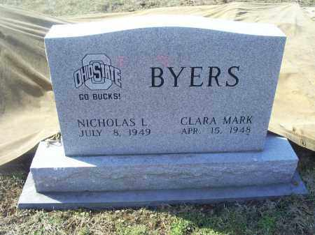 MARK BYERS, CLARA - Ross County, Ohio | CLARA MARK BYERS - Ohio Gravestone Photos