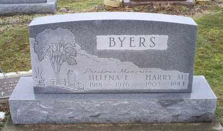 BYERS, HELENA E. - Ross County, Ohio | HELENA E. BYERS - Ohio Gravestone Photos