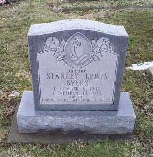 BYERS, STANLEY LEWIS - Ross County, Ohio | STANLEY LEWIS BYERS - Ohio Gravestone Photos