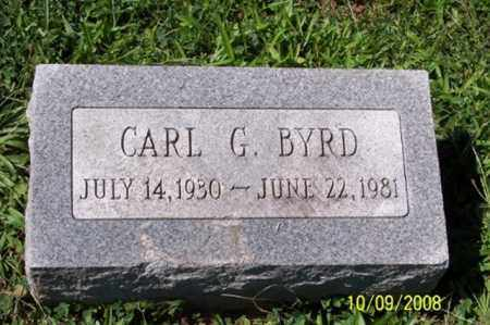 BYRD, CARL G. - Ross County, Ohio | CARL G. BYRD - Ohio Gravestone Photos