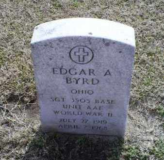 BYRD, EDGAR A. - Ross County, Ohio | EDGAR A. BYRD - Ohio Gravestone Photos
