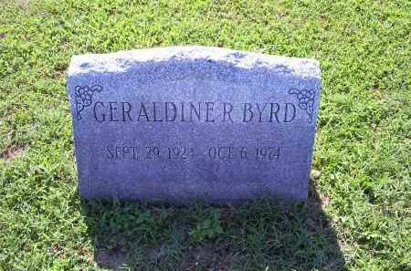 BYRD, GERALDINE R. - Ross County, Ohio | GERALDINE R. BYRD - Ohio Gravestone Photos